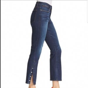 FRAME Denim Le High Straight Button Jeans NWT! 27